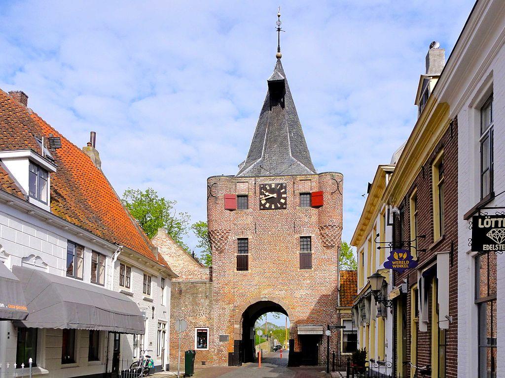 Stadspoort van Elburg. Foto Gouwenaar/Wikimedia