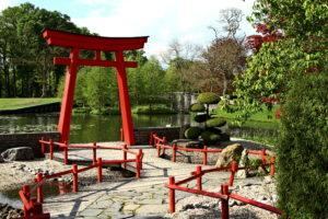 Japanse sferen in Kasteeltuinen Arcen. Foto Sybylle Kroon