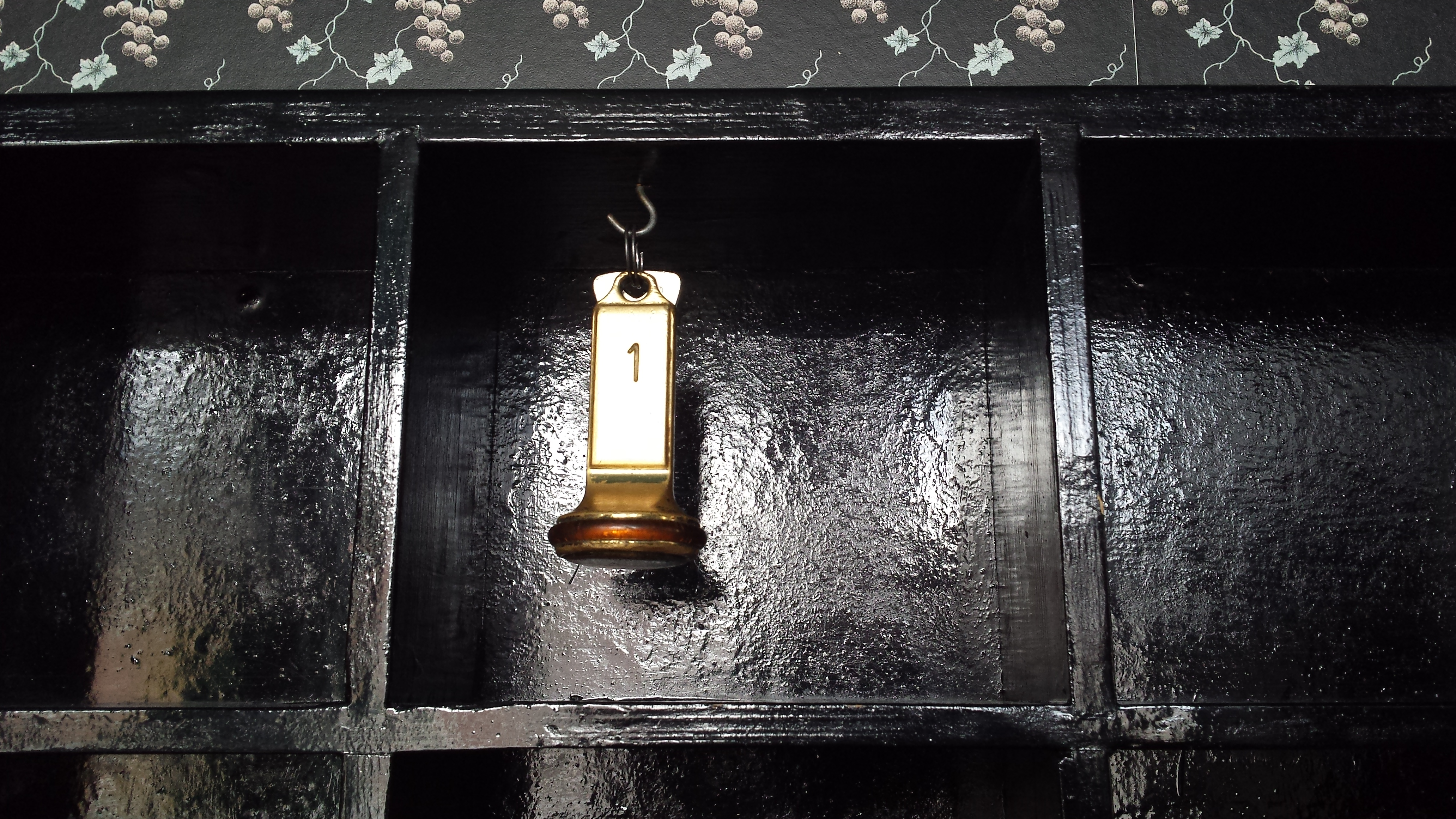 De enige sleutel van hotel De Kromme Raake.