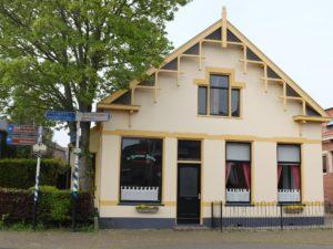 Het kleinste hotel ter wereld staat in Eenrum.