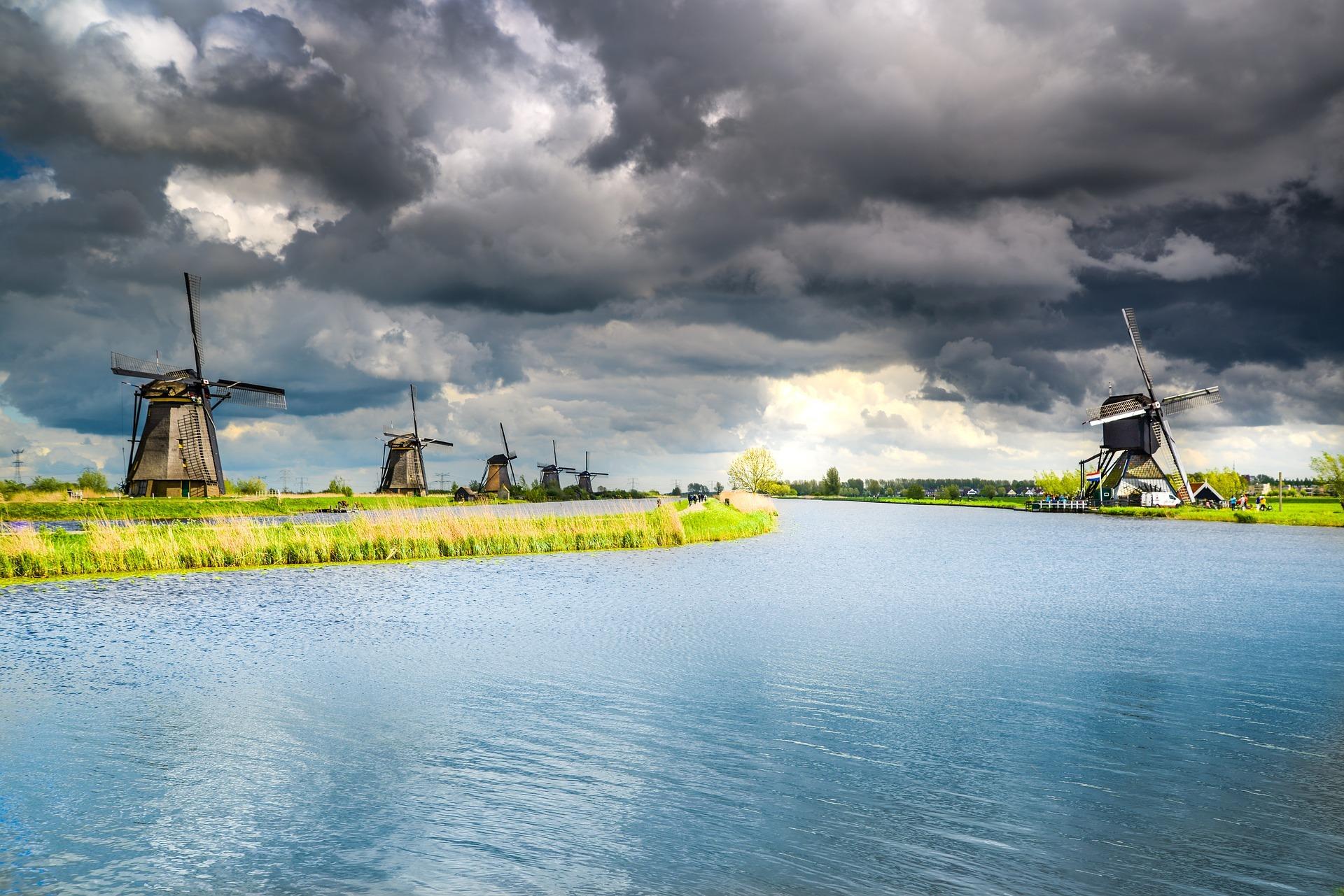 Kinderdijk Foto PIxabay