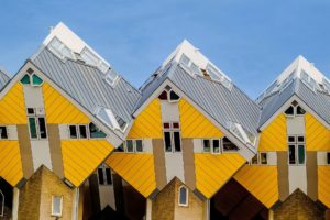 Kubuswoningen in Rotterdam. Foto Pixabay