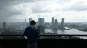 Uitzicht over Rotterdam. Foto Pixabay