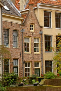 Smalste huis van Zwolle. Foto Sybylle Kroon