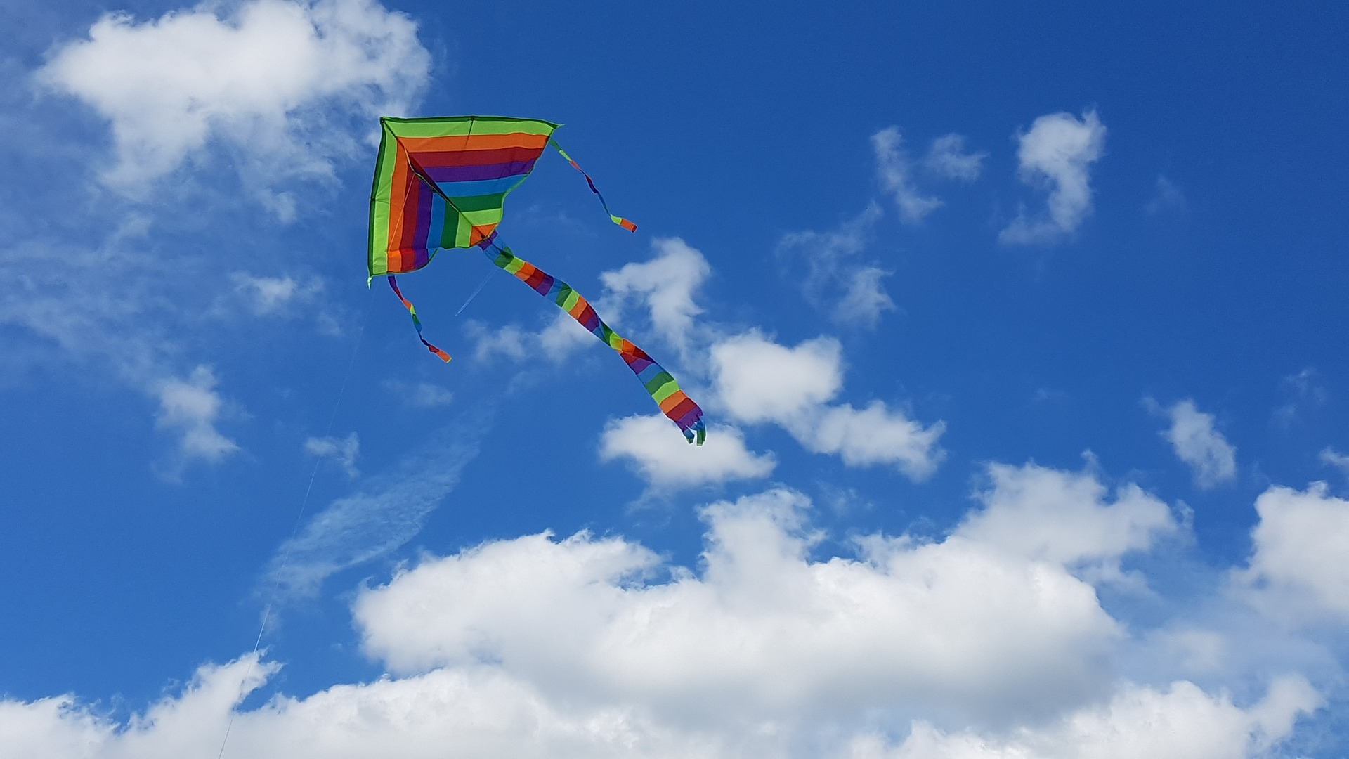 Vliegeren op Schier. Foto Pixabay