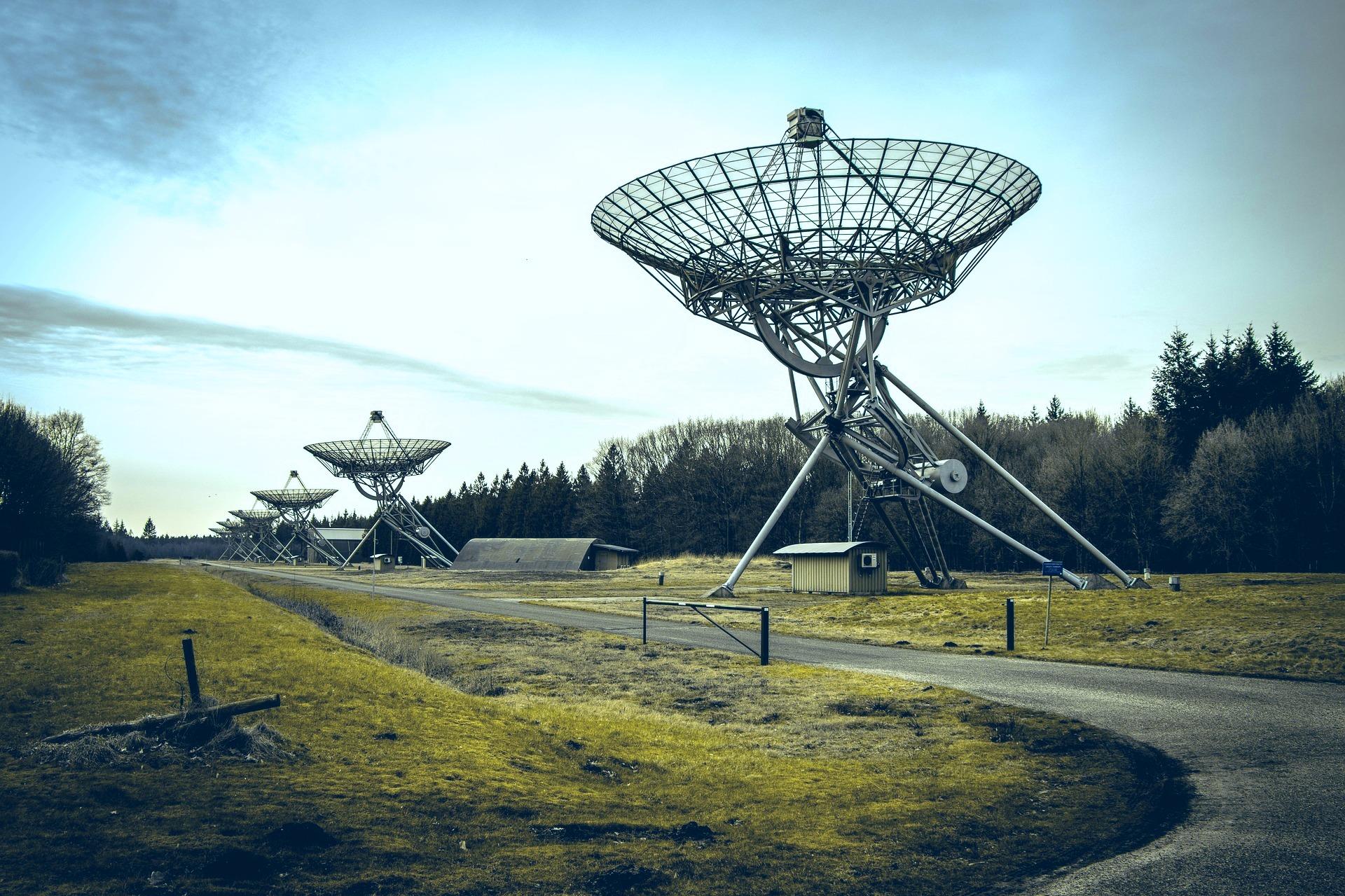 Telescopen Hooghalen. Foto Pixabay