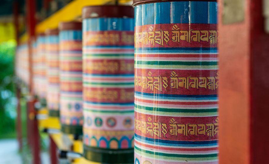 Bij de stoepa in Hantum Foto van website.