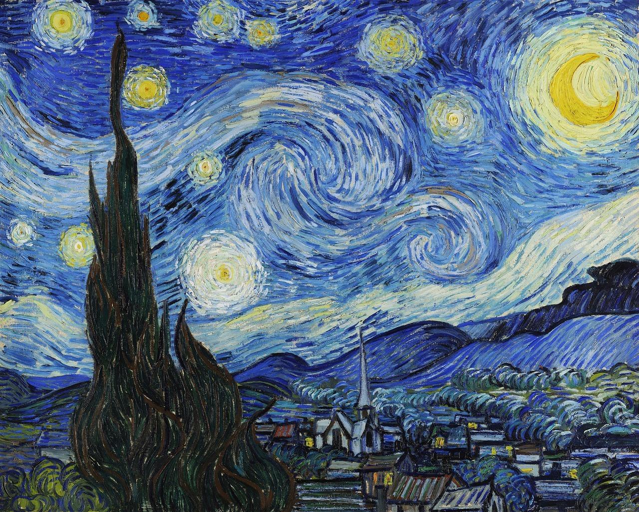Werk van Van Gogh. Foto Pixabay.