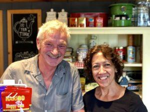 Frans en Wendy de Haas. Foto Sybylle Kroon