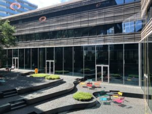 De nieuwe bibliotheek Almere Centrum