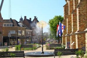 Fontein de Oortwolk in Franeker. Foto Sybylle Kroon