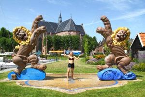Woeste Leeuwen fontein Workum
