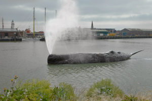 Fontein Walvis in Harlingen. Foto 11fountains
